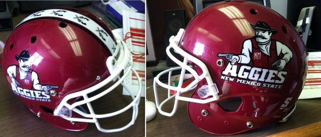 aggies helmet new