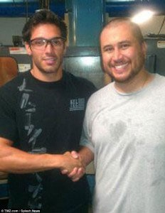 Did Zimmerman make a mistake by taking a factory tour? (Photo credit: TMZ)