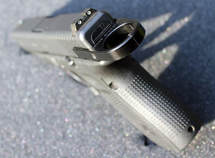 brass stacker glock slide pull3