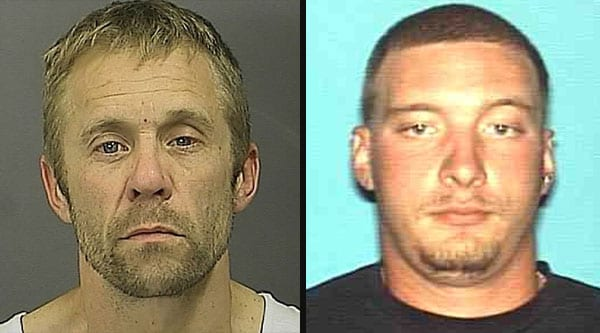 Both suspects had prior records for burglary and are suspected in other recent burglaries in the area.