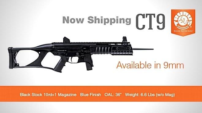 Taurus CT9 carbine