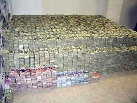 There's no question that the drug business is a lucrative one. (Photo credit: U.S. Justice Department)