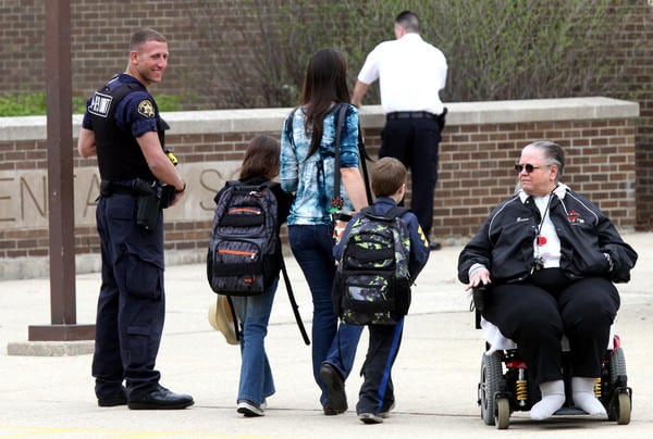 The idea of more guns in schools has been a hot topic since the tragedy at Sandy Hook last December. (Photo credit: PatDollard)