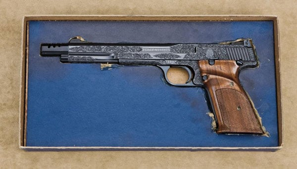 Classic engraved premier grade Model 41.