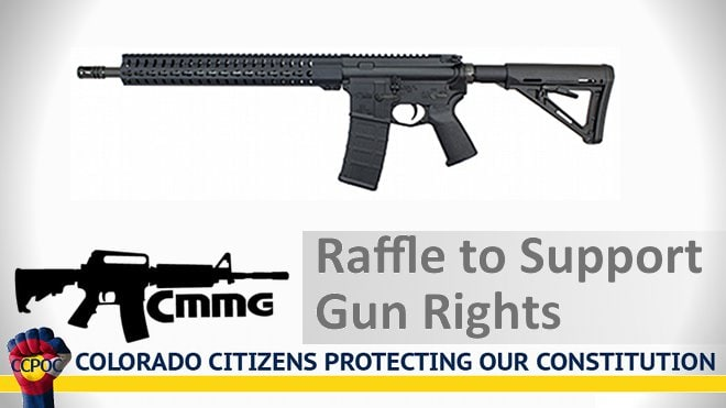 cmmg colorado gun rights rifle raffle