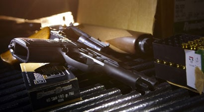 A gun without ammo is… well, pretty useless. (Photo credit: Bloomberg)