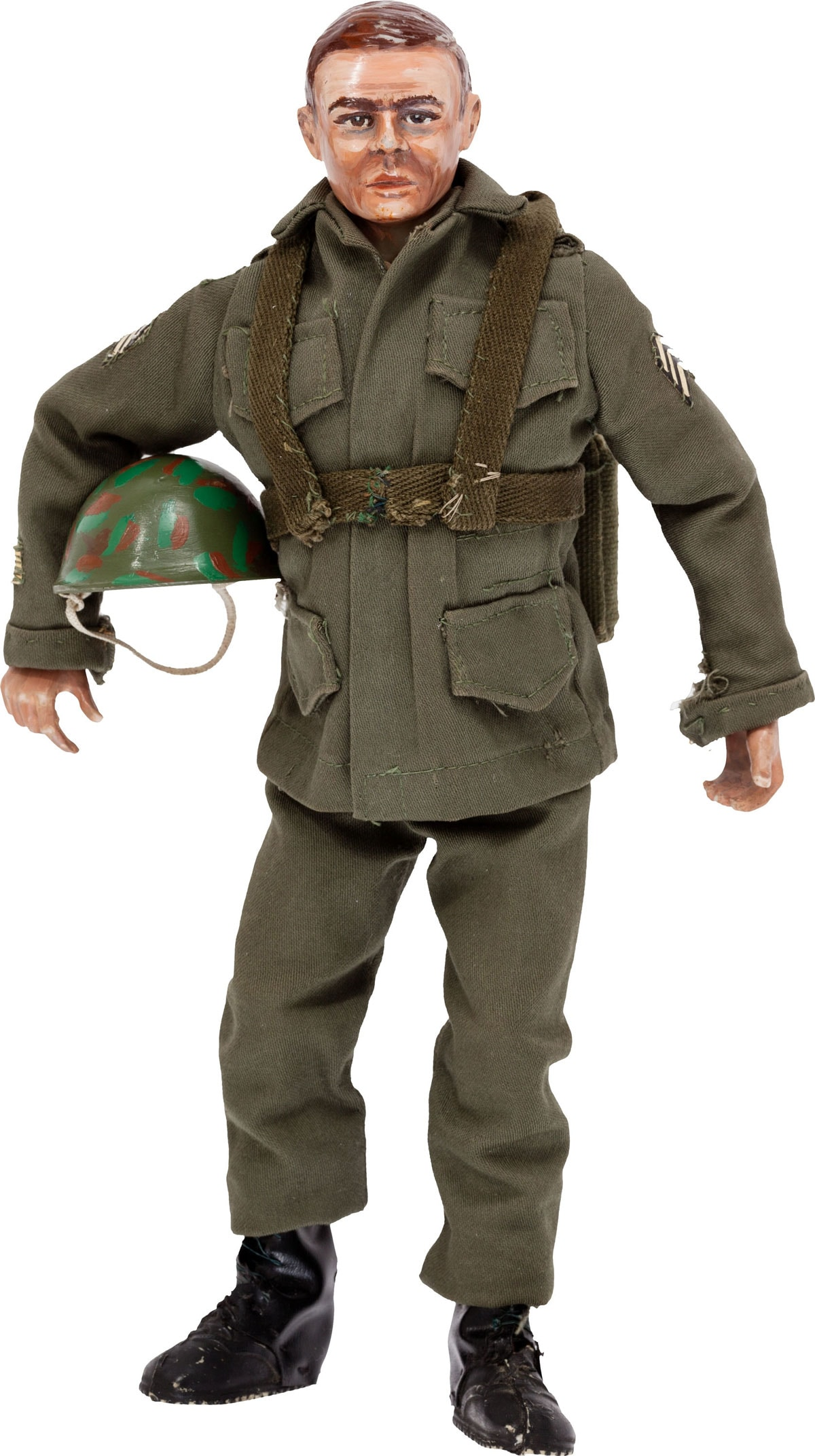 Don Levine's first iteration of G.I. Joe, hand made in 1964