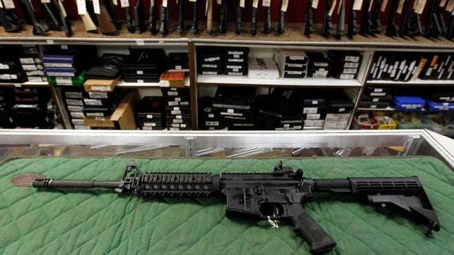 AR-15's may be a hot topic among some, but in Virginia handgun sales are what's happening. (Photo credit: Fox)