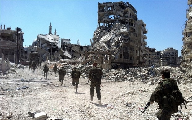 City of Homs (Photo: AFP/Getty Images)
