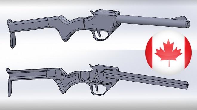 3d printed guns in canada