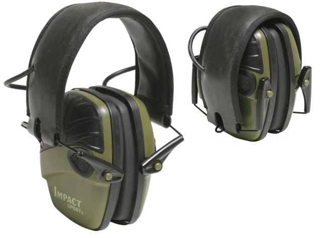 Leight Impact Sport ear muffs.