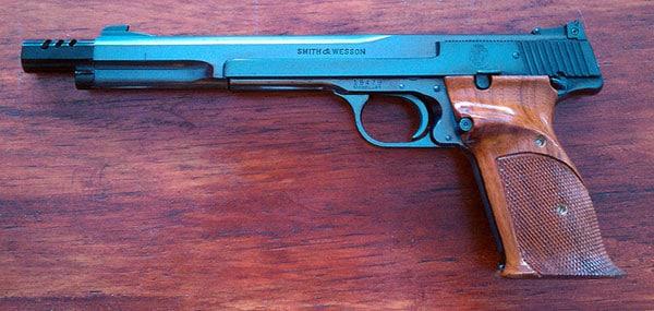 Model 41 target pistol