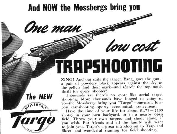 trap shooting system mossberg bolt shotgun