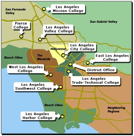 The new regulation applies to all nine campuses. (Photo credit: LACCD)