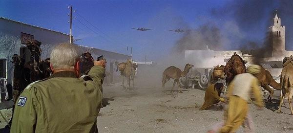 Patton vs. planes.