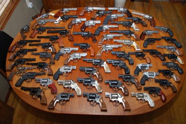 S&W wheel guns
