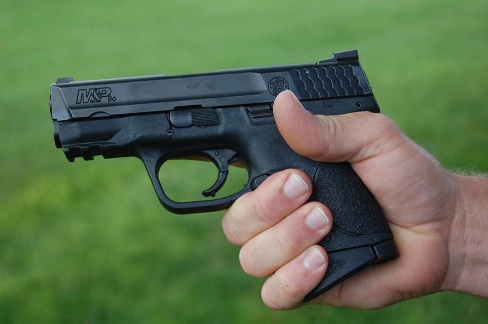 smith & wesson m&p9c pistol