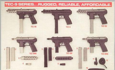TEC-9 variants