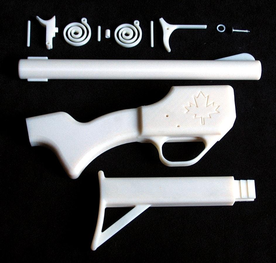 canadian 3d printed gun parts