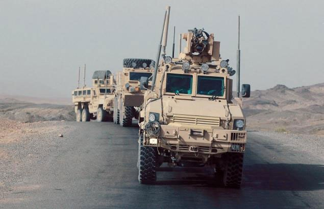Some 28,000 military vehicles still remain in Afghanistan to be shipped back to the U.S.