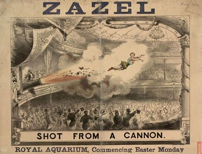 1877 human cannonbal
