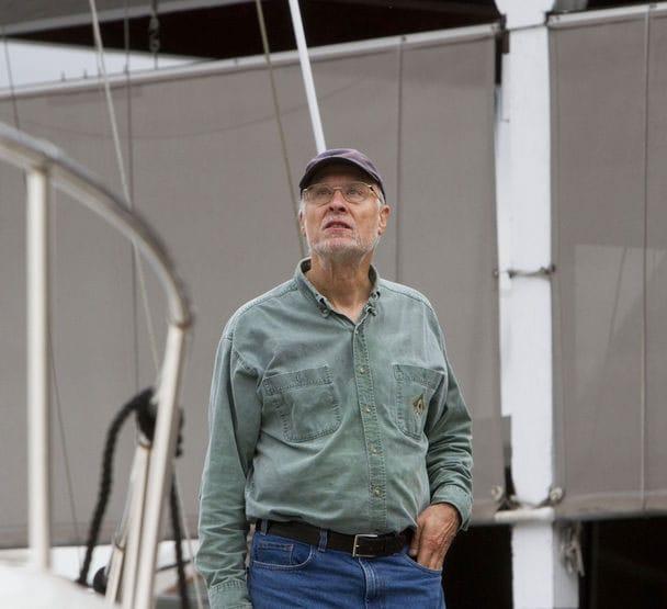 Dave Svensen stopped the marina mayhem by using his neighbor's shotgun. (Photo credit: Seattle Times)