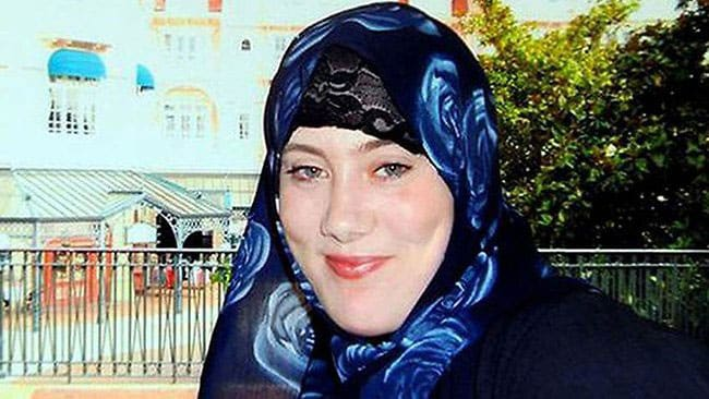 """There are reports that one of the terrorists involved in the attack was Samantha Lewthwaite, known as the """"White Widow."""" (Photo credit: The Sunday Times)"""