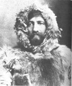 Frederick Cook in Arctic gear