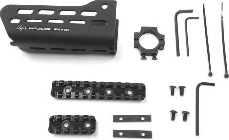 Manticore Arms ARClight Tavor rail 2