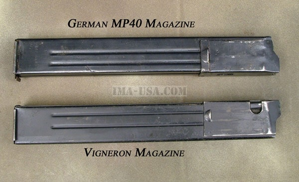 MP40 and Vig magazines