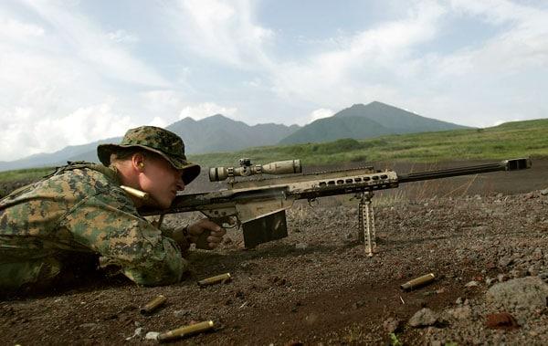 USMC Barrett M82A3