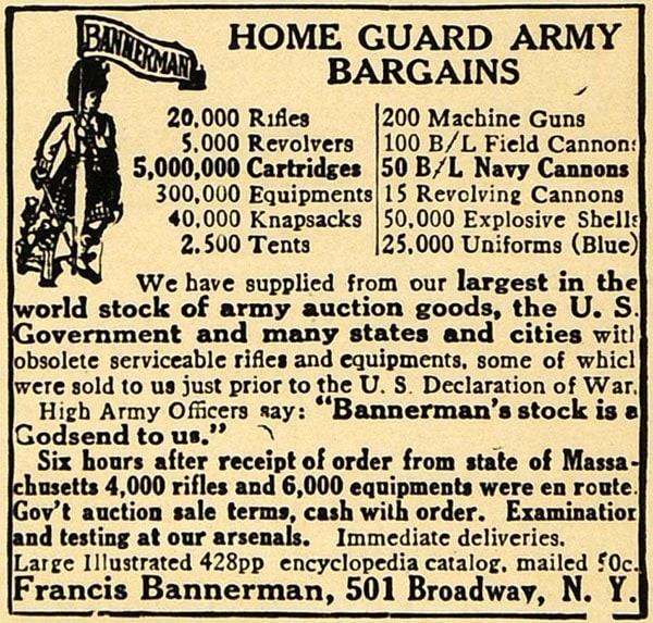 Bannerman ad