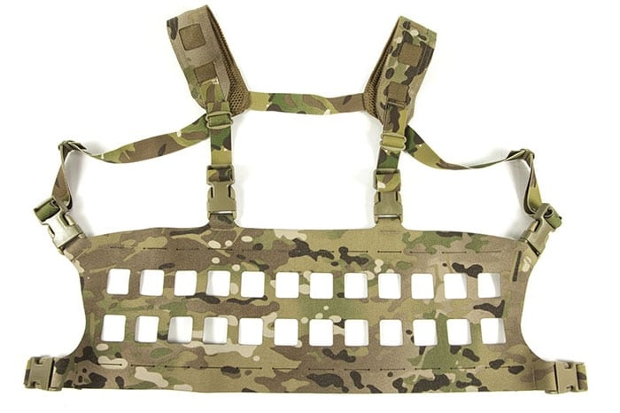 The Rack Minus is a minimalist chest rig.