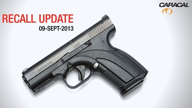 caracal c recall graphic