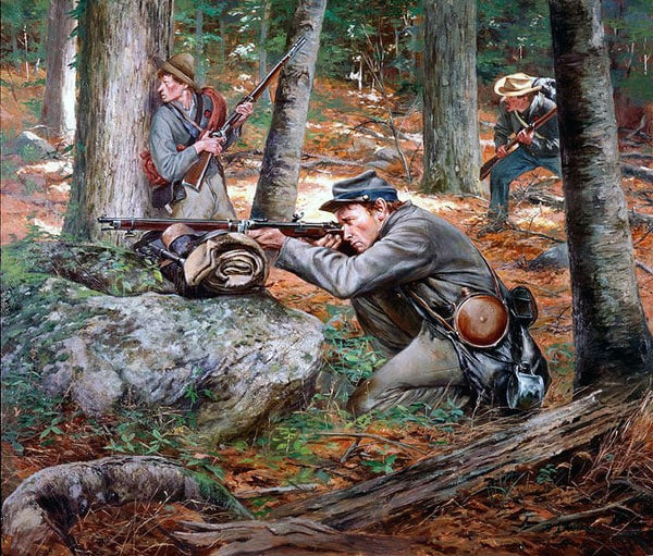 Confederate sharpshooter whitworth