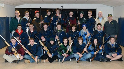 The 2012-2013 Emmaus High School Rifle Team