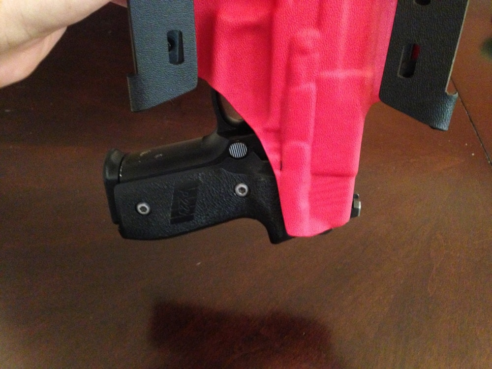 Griffon kydex retention