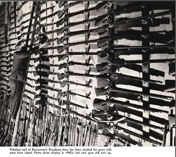 rifles at bannermans