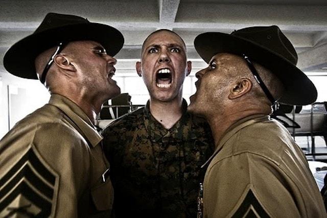 marine drill instructors