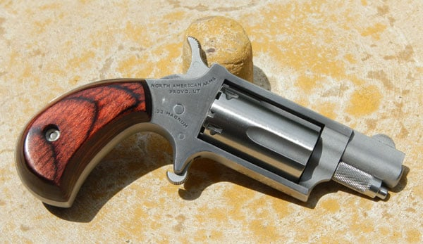 NAA Mini Revolvers: Five rounds of 'Get off me!' (VIDEO