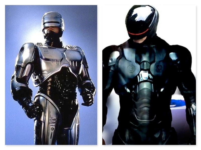 old vs new robo