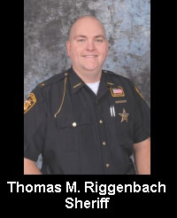 Thomas Riggenbach has issued 276 licenses this year and denied only two since he has been sheriff (Photo credit: VanWertCountySheriff.com)