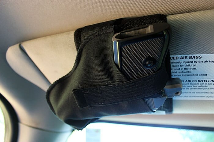 Gear Review: Deep Conceal's SurVisor, visor mounted holster