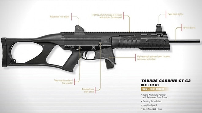 taurus ct9 g2 carbine