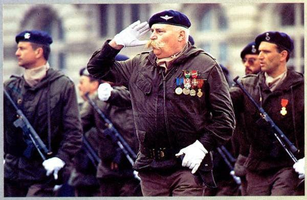 Belgian Army with vig