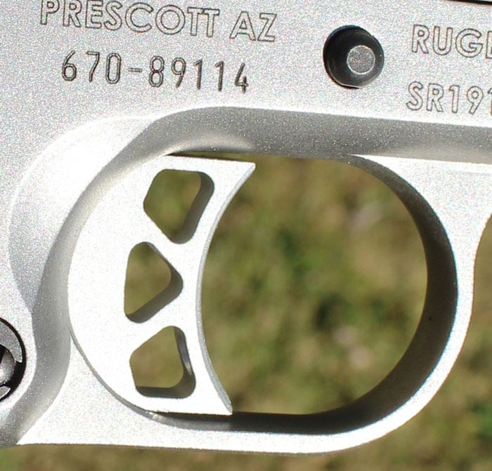 The SR1911 has a great trigger for a factory gun. (Photo by David Higginbotham)