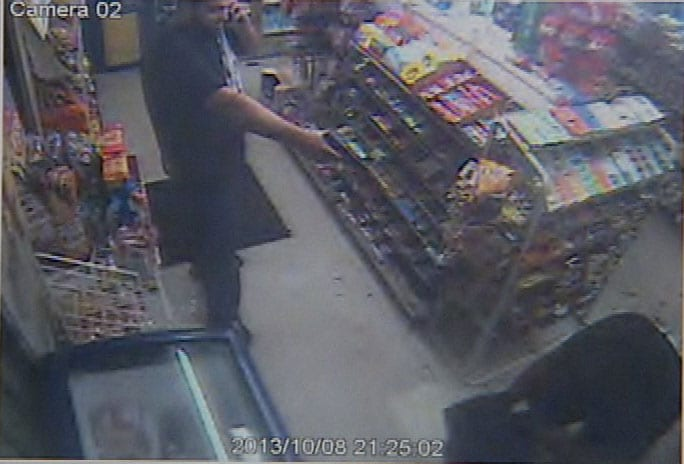 """""""He chose the wrong store, the wrong one,"""" the store owner said. (Photo credit: WSAV)"""