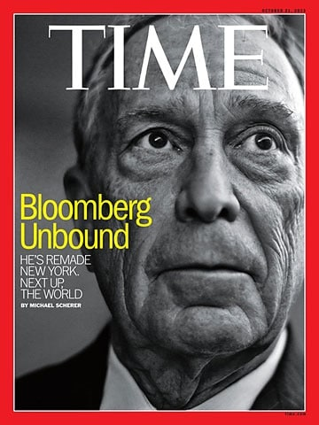 Bloomberg on the cover of TIME Magazine