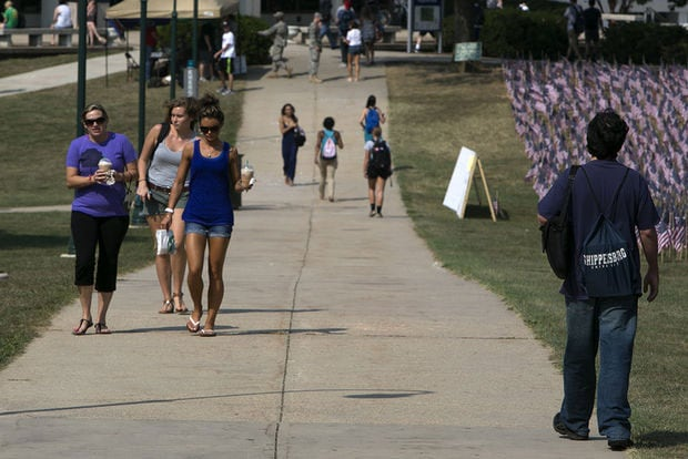 Does allowing weapons on university campuses increase safety or contribute to more violence? Opinions are split. (Photo credit: Penn Live)