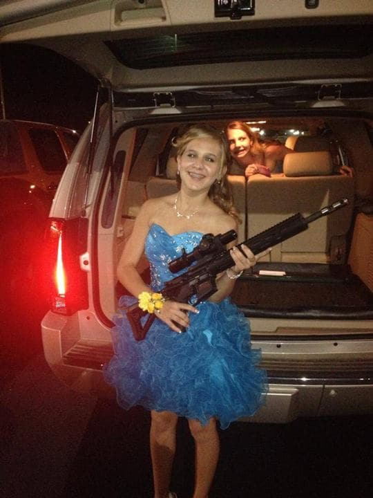 Katelyn Francis before homecoming.